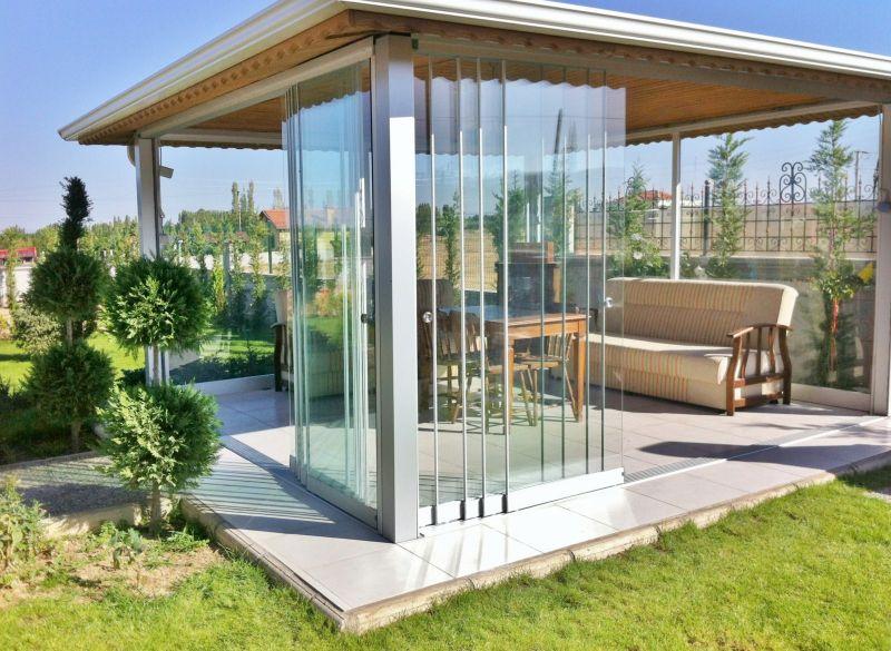 coulissant en verre sans montants verticaux pose de. Black Bedroom Furniture Sets. Home Design Ideas